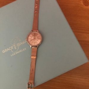 Rose Gold wristwatch